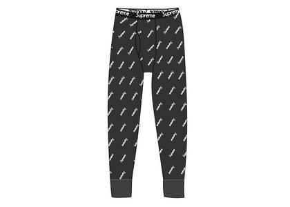 Supreme Hanes Thermal Pant (1 Pack) Black Logosの写真