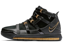 Nike LeBron 3 Black Gold (2018)の写真