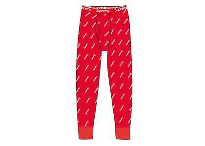 Supreme Hanes Thermal Pant (1 Pack) Red Logosの写真