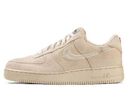Stussy × Nike Air Force 1 Low Fossil Stoneの写真
