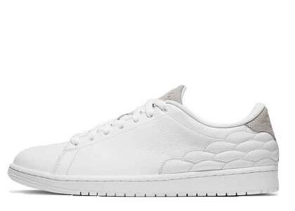 Nike Air Jordan 1 Center Court White On Whiteの写真