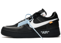 Off-White × Nike The 10 Air Force 1 Low Black Whiteの写真