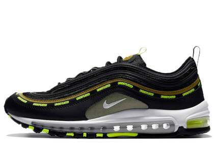Undefeated × Nike Air Max 97 Black Voltの写真