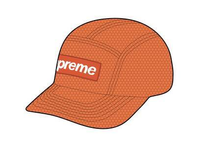 Supreme Kevlar Camp Cap Orangeの写真