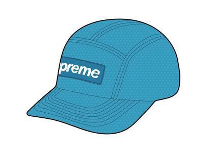Supreme Kevlar Camp Cap Blueの写真