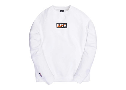 Kith × Nike for New York Knicks Logo Crewneck White