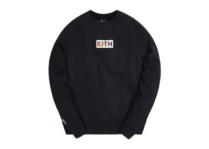 Kith × Nike for New York Knicks Logo Crewneck Black