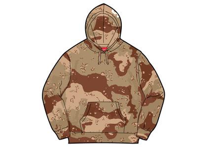 Supreme Rib Hooded Sweatshirt Chocolate Chip Camoの写真
