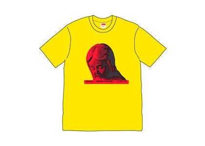 Supreme Everywhere Tee Yellowの写真
