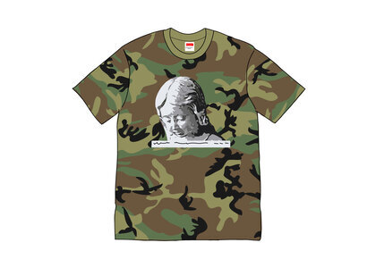 Supreme Everywhere Tee Woodland Camoの写真