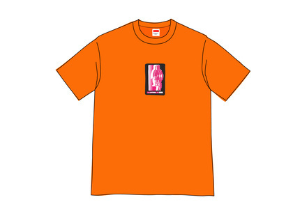 Supreme Blur Tee Orangeの写真