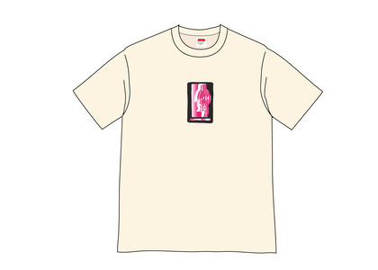 Supreme Blur Tee Naturalの写真