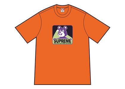 Supreme Bear Tee Orangeの写真