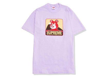 Supreme Bear Tee Light Purpleの写真