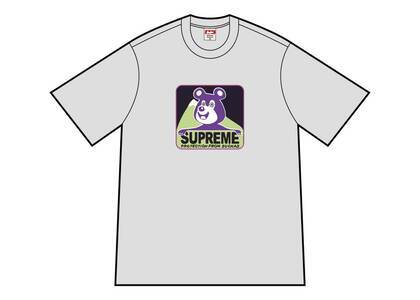 Supreme Bear Tee Heather Greyの写真