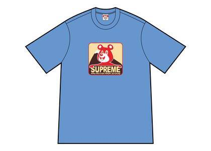 Supreme Bear Tee Dusty Light Royalの写真