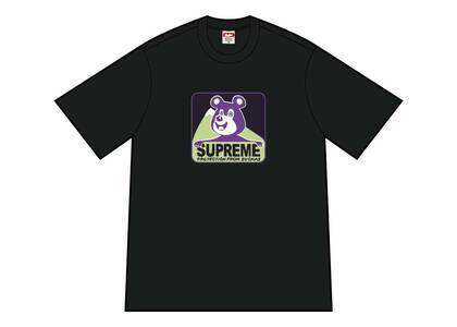 Supreme Bear Tee Blackの写真