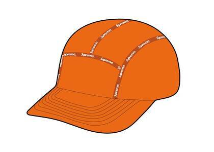 Supreme Taped Seam WINDSTOPPER Camp Cap Orangeの写真