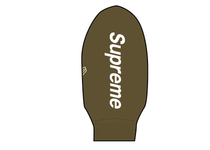 Supreme New Era Balaclava Oliveの写真