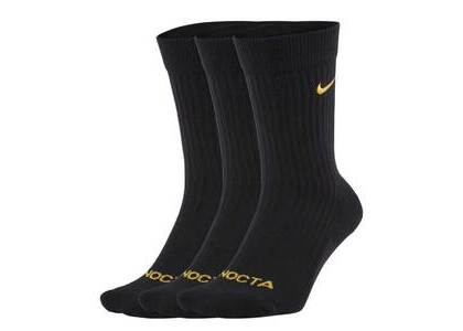 NOCTA x Nike Socks Blackの写真