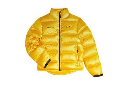 NOCTA x Nike Puffer Jacket University Goldの写真