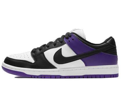 Nike SB Dunk Low Court Purpleの写真
