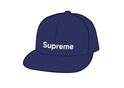 Supreme WINDSTOPPER Earflap Box Logo New Era Washed Navyの写真
