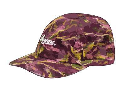Supreme Marble 6-Panel Purpleの写真