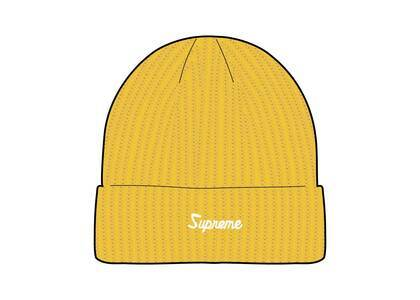 Supreme Loose Gauge Beanie Yellowの写真