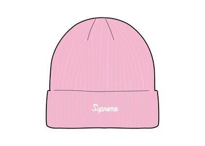 Supreme Loose Gauge Beanie Pinkの写真