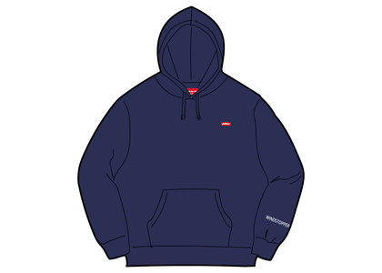 Supreme WINDSTOPPER Zip Up Hooded Sweatshirt Washed Navyの写真