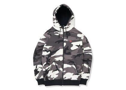 Supreme WINDSTOPPER Zip Up Hooded Sweatshirt Snow Camoの写真