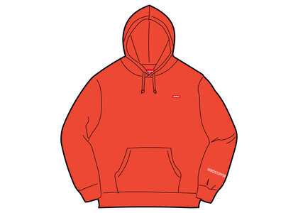 Supreme WINDSTOPPER Zip Up Hooded Sweatshirt Orangeの写真