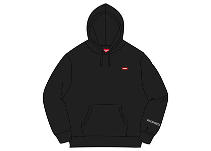 Supreme WINDSTOPPER Zip Up Hooded Sweatshirt Blackの写真
