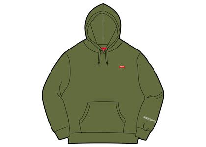 Supreme WINDSTOPPER Zip Up Hooded Sweatshirt Dark Oliveの写真