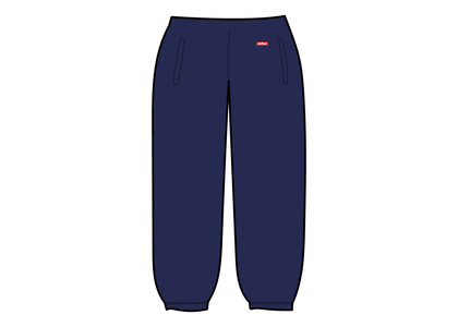 Supreme WINDSTOPPER Sweatpant Washed Navyの写真