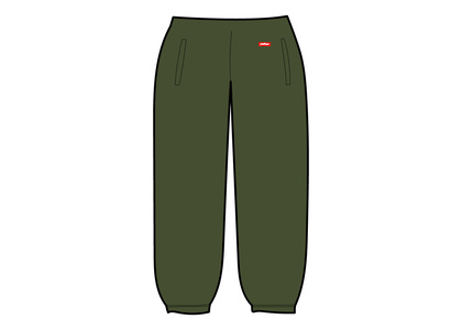 Supreme WINDSTOPPER Sweatpant Dark Oliveの写真