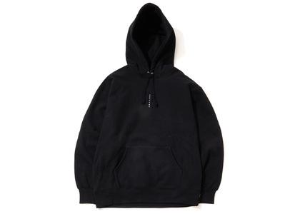 Supreme Micro Logo Hooded Sweatshirt Blackの写真