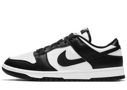 Nike Dunk Low Retro White Blackの写真