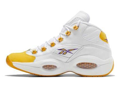 Reebok Question Mid  Yellow Toeの写真