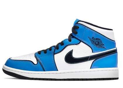 Nike Air Jordan 1 Mid SE  Signal Blueの写真
