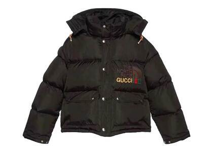 Gucci × The North Face Down Jacket Black