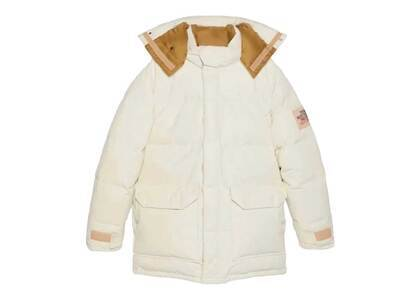 Gucci × The North Face Down Coat White