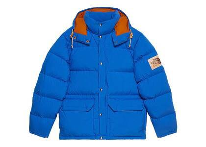 Gucci × The North Face Down Jacket Blue