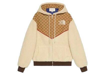 Gucci × The North Face Fleece Jacket Whiteの写真