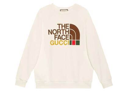 Gucci × The North Face Sweatshirt Whiteの写真