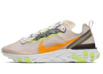 Nike React Element 87 Light Orewood Brownの写真
