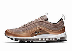 AIR MAX 97 WHITE METALLIC RED BRONZE BLACK