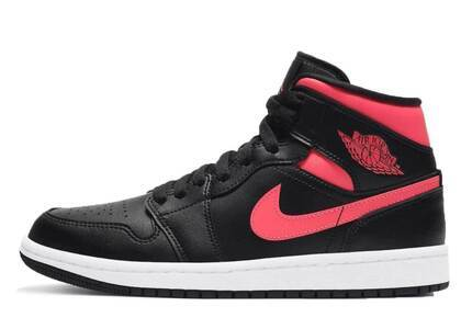 Nike Air Jordan 1 Mid Black Siren Red Womensの写真
