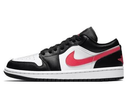 Nike Air Jordan 1 Low Black Siren Red Womensの写真